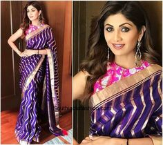 Saree Colors For Dark Complexion Women - Indian Skin Tone, saree colour for dark skin tone women, selection of saree colour for dark complexion women Dusky Skin, Bridal Sari, Sari Design, Desi Wear, Saree Look, Traditional Sarees, India Fashion, Latest Fashion, Beautiful Saree