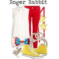 """""""Roger Rabbit"""" by princesschandler on Polyvore"""