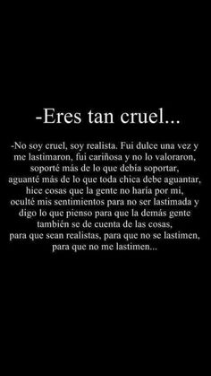Sad Love Quotes, Words Quotes, Life Quotes, Sayings, Amor Quotes, E Bible, Ex Amor, Sad Texts, Quotes En Espanol
