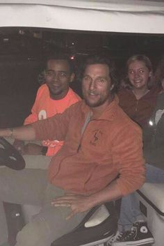 Matthew McConaughey Drives Students Around the University of Texas Because He's Just That Great
