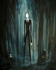 The slenderman and his proxies; masky and hoodie