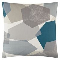 geometric shapes cushion