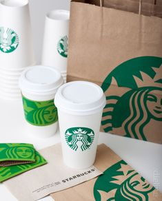 Was never a Starbucks logo fan due to the ugly block type. I LOVE the new branding with focus on the lovely Siren. Also love the vibrant green cozy.