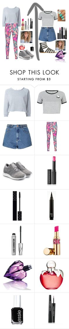 """""""Two cute school outfits"""" by queenalisa on Polyvore featuring Gaëlle Bonheur, WithChic, Glamorous, adidas Originals, Le Métier de Beauté, Gucci, Bare Escentuals, Yves Saint Laurent, Diesel and Nina Ricci"""