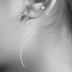 New fashion jewelry cool Rotation earring  gift for women girl E3128