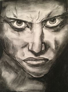 Bellicose charcoal