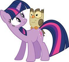 Resultado de imagen para MLP Twilight Sparkle and pet