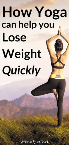 Are you looking into healthy weight loss options to increase your metabolism and shed pounds? Consider yoga to lose weight faster and really see results. Many people have used yoga to lose weight and seen great success. Now it's your turn to give it a try. Here is why this healthy weight loss option can help you finally see the results you crave. #loseweightfast #healthyliving #naturalliving #weightlosstips Asana Yoga Poses, Yoga Sequences, Help Losing Weight, How To Lose Weight Fast, Healthy Weight Loss, Weight Loss Tips, Yoga Mantras, Get Toned, Yoga Pictures