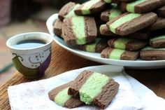 St. Patrick's Day *Food* - Chocolate/Mint Cookie (recipe  tutorial)
