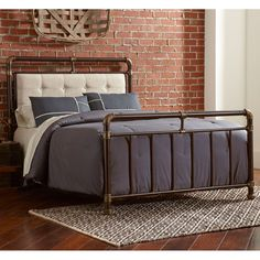 buy online bb0da 36749 Iron Beds & Wrought Iron Beds