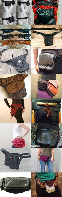 Lovelier  Hip Bag Belt Flow by Leila Osborne on Etsy--Pinned+with+TreasuryPin.com