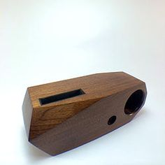 Wood iPhone 5 Acoustic Amplifier www.myaudiotree.com