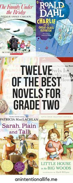 Twelve of the Best Novels for Grade Two