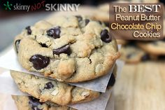 The Best Peanut Butter Chocolate Chip Cookies!