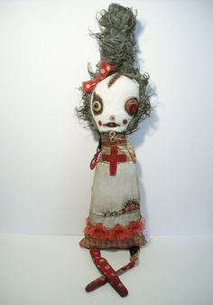 Junker Jane ooak  art doll
