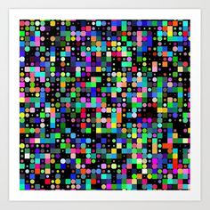 """""""POP MATRIX"""" Set the tone of your room from the walls out—""""from the ground up"""" is so dated. Mix and match your favorite art prints on a gallery wall showcasing everything that makes your style unique. Art prints available in five sizes, from x-small to x-large. *Exact sizing may vary slightly due to printing process, we advise waiting to buy frames until the prints arrive.    - Natural white, matte, ultra smooth background   - 100% cotton, acid and lignin-fre... From The Ground Up, Buy Frames, Poster Wall, Unique Art, Printing Process, Waiting, Canvas Art, Gallery Wall, My Arts"""