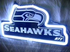 """NFL Seattle Seahawks Football 3D Acrylic Neon Light Sign 11"""" X 8"""" Free Shipping"""
