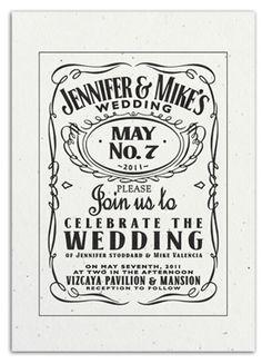 JD Wedding Invite