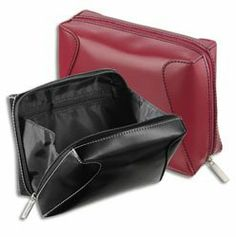 Japonesque Face Essentials Bag, Black by Japonesque. $7.45. Divided main compartment and internal zippered pocket team with wide bottom and side gussets for easy access. Mod high sheen easy clean finish. Available in 2 colors, TO-205 (black) and TO-210 (red).