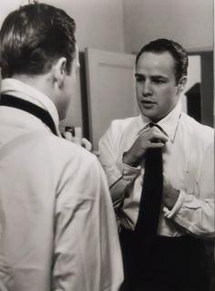A Candid of Marlon Brando C.1950s