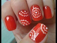 Unhas Decoradas De Florzinhas Fáceis De Fazer - YouTube Nail Art Designs, Nails, Youtube, Nail Art Flowers, Simple Flowers, Art Projects, Nailed It, Art Nails, Nail Art