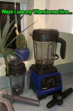 This is the best Vitamix resource I've found. . . by far! She has info about techniques, recipes, sweeteners, the Yahoo Vitamix group, and more. If your Vitamix is just sitting there, check out her website and you'll find some reasons to dust it off!