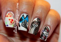 #Nails #Manicure #naildesign #nailart #longnails #nailpolish #NailsofPinterest Visit LickMyLacquer.com for more details and pictures