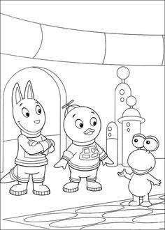 Backyardigans Tegninger til Farvelægning 53