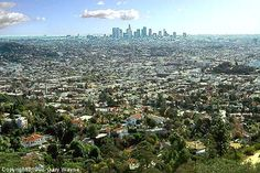 Los Angeles, as seen from the Griffith Park Observatory. Beautiful because it's home.
