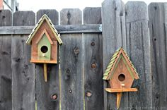 Easy DIY Birdhouse | Easy Woodworking Projects
