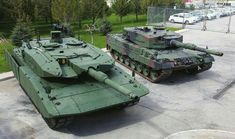 Leopard 2 A7  в сравнении с ранней  модификацией