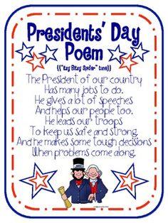Presidents' Day Free Printables - Michelle Tomaszewski - TeachersPayTeachers.com