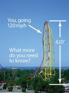 Cedar Point Great Rides! I went on this one twice!
