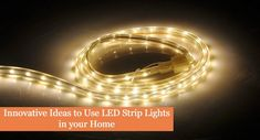 Innovative Ideas to Use LED Strip Lights in your Home. Adhesive LED strip lights offer enormous versatility in creative home lighting. Aquarium Led, Led Aquarium Lighting, Water Lighting, Strip Lighting, Home Lighting, Decking Area, Garden Stairs, Home Decor Lights, Innovative Ideas