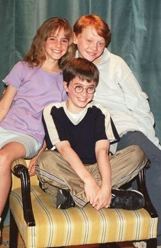 Harry Potter, Hermoine Granger, Ron Weasley, movie, portrait, photo