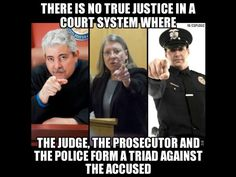 Image result for judge police prosecutor together