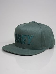 OBEY 22413A095 THE CITY SNAPBACK Cappello Snapback - army € 28,00 - See more