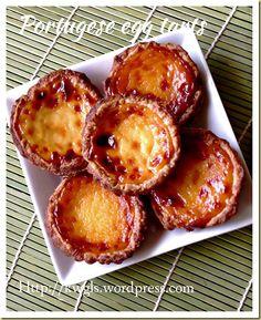 Portuguese Egg Tarts–Pastel De Nata (葡式蛋挞) | GUAI SHU SHU