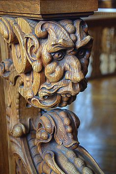 bluesman56: Carved faces on Flickr.