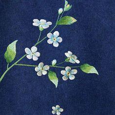#야생화자수 #꽃마리 #꿈소 #꿈을짓는바느질공작소 #embroidery #trigonotispeduncularis