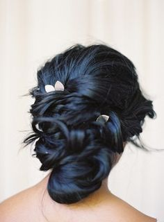I want navy hair Long Curly Hair, Curly Hair Styles, Navy Blue Hair, Black Hair, Rustic Wedding Hairstyles, Dye My Hair, Stylish Hair, Up Girl, Pretty Hairstyles