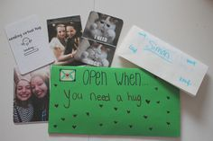 what to put in open when letters - Google Search