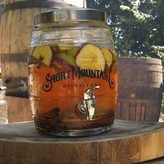 Apple pie moonshine from Short Mountain Distillery...Woodbury, TN
