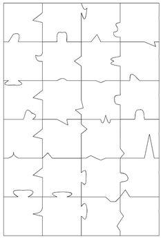 puzzle vorlage basteln pinterest vorlagen schuhkarton und feinmotorik. Black Bedroom Furniture Sets. Home Design Ideas