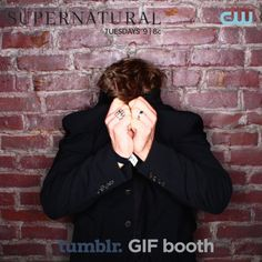 CW Supernatural 200th Episode VIP Screening Party... all the gifs of so many of our cutie pie actors being silly!