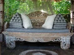 Bali styling lounge couch