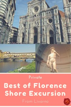 All-inclusive Shore Excursion to Florence from Livorno includes private chauffeur service and a private guide with skip-the-line access.