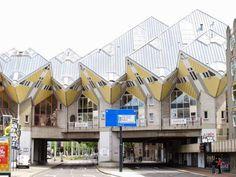 Waterway Wanderer: Netherlands waterway cruise - The Cube House - Braak - Rotterdam