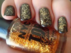 NYC Top Of The Gold dupe for Zoya Maria-luisa