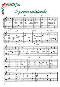 Znalezione obrazy dla zapytania kolędy nuty na fortepian Christmas Sheets, Ukulele, Guitar, Cello, Piano, Sheet Music, Cards, Cellos, Music Score